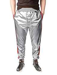 baratos -Homens Punk & Góticas / Moda de Rua Calças Esportivas / Chinos Calças - Estampa Colorida