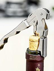 Недорогие -1шт Нержавеющая сталь Открывалка для бутылок Прост в применении Вино Аксессуары для Barware