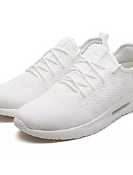 cheap -Men's Shoes Tulle / Fabric Summer Comfort Athletic Shoes Running Shoes White / Black / Gray