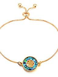 abordables -Femme Opale Chaînes & Bracelets - Résine Arbre de la vie Classique, Rétro, Mode Bracelet Bleu Pour Quotidien / Rendez-vous