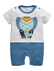 cheap -Baby Boys' Print Short sleeves Romper
