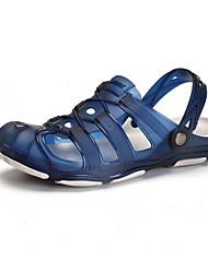 billige -Herre Sko EVA Sommer Komfort Sandaler Grå / Gul / Blå