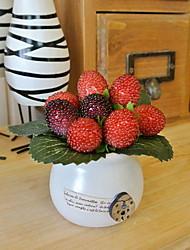 cheap -Artificial Flowers 1 Branch Rustic Fruit Tabletop Flower