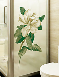 cheap -Window Film & Stickers Decoration Floral / Contemporary Floral PVC Window Sticker / Matte