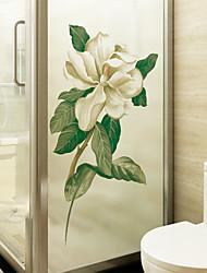 cheap -Window Film & Stickers Decoration Floral / Contemporary Floral PVC Window Sticker / Matte