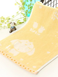 cheap -Superior Quality Wash Cloth, Jacquard / Cartoon Poly / Cotton 1 pcs