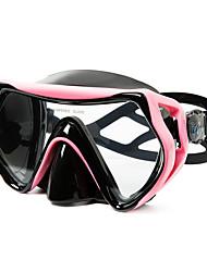 Недорогие -плавательные очки / Очки для подводного плавания Противо-туманное покрытие, Водонепроницаемый Два окна - Дайвинг, Для погружения с трубкой