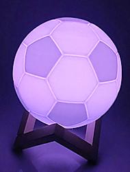 Недорогие -YWXLIGHT® 1 комплект 3D ночной свет USB Для детей / Романтика / День рождения 5V