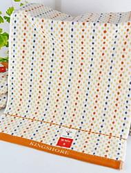 Недорогие -Высшее качество Банное полотенце / Полотенца для мытья, Горошек Полиэстер / Хлопок Ванная комната