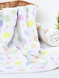 abordables -Style frais Serviette de bain Essuie-mains, Motif Qualité supérieure Polyester / Coton 100% coton 1pcs