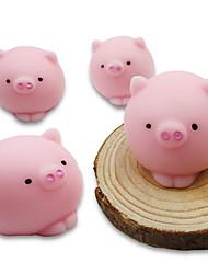 Недорогие -LT.Squishies Резиновые игрушки / Устройства для снятия стресса Поросенок Стресс и тревога помощи / Декомпрессионные игрушки Others 4pcs