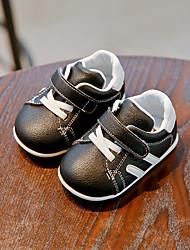 abordables -Garçon Chaussures PU de microfibre synthétique Printemps & Automne Premières Chaussures Basket Scotch Magique pour Bébé De plein air