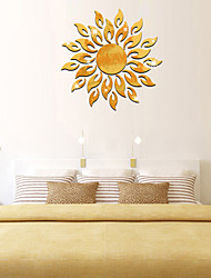 cheap -Decorative Wall Stickers - Mirror Wall Stickers Shapes Living Room / Indoor