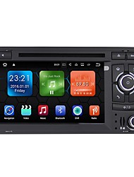 abordables -2 Din 1024 x 600 Android 7.1 Coches reproductor de DVD para Audi Bluetooth Integrado / GPS / RDS - AVI / CD / VCD