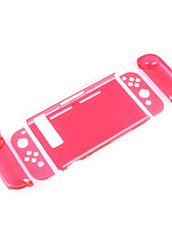 baratos -SWITCH Sem Fio Protetor de caso Para Nintendo Interruptor ,  Protetor de caso PC 1 pcs unidade