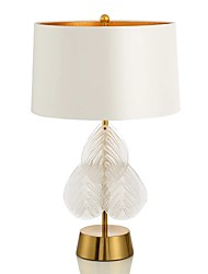 cheap -Contemporary Table Lamp For Metal 110-120V 220-240V Gold White