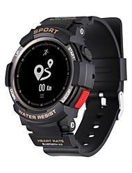 Недорогие -Смарт Часы F6 для Android Пульсомер / GPS / Сенсорный экран / Защита от влаги / Педометры Педометр / Датчик для отслеживания активности / Датчик для отслеживания сна / Сидячий Напоминание / Секундомер