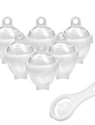 Недорогие -Кухонные принадлежности Пластик Простой Пароварка / Для яиц Для Egg 7pcs