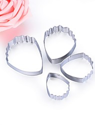 cheap -Bakeware tools Stainless Steel New Year's / Valentine's Day / DIY Everyday Use / Kitchen Outfits 4pcs
