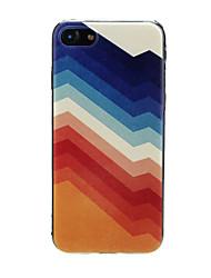 abordables -Coque Pour Apple iPhone X / iPhone 7 Ultrafine / Motif / Adorable Coque Cœur / Paysage Flexible TPU pour iPhone X / iPhone 8 Plus / iPhone 8