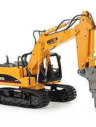 cheap -RC Car 1560 2.4G Excavator 1:16 Brush Electric 30 km/h KM/H