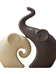 abordables -2pcs Céramique Moderne / ContemporainforDécoration d'intérieur, Décorations pour la maison Cadeaux