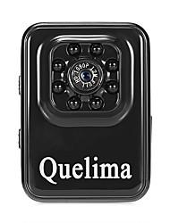 Недорогие -Quelima R3 1080p Мини / Ночное видение / Двойной объектив Автомобильный видеорегистратор 120° Широкий угол КМОП-структура Капюшон с