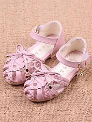 economico -Da ragazza Scarpe Finta pelle Estate Comoda / Scarpe da cerimonia per bambine Sandali per Beige / Blu / Rosa