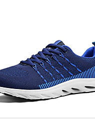 cheap -Men's Canvas Winter Comfort Athletic Shoes Running Shoes Black / Red / Blue