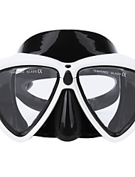 Недорогие -Маска для снорклинга / Очки для подводного плавания Противо-туманное покрытие, Дети / подростки, Молодежный Два окна - Плавание, Дайвинг