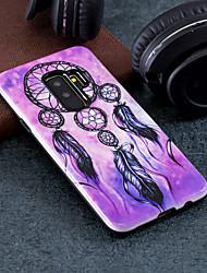 Недорогие -Кейс для Назначение SSamsung Galaxy S9 Plus / S9 С узором Кейс на заднюю панель Ловец снов Твердый ПК для S9 / S9 Plus / S8 Plus