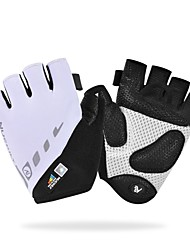 cheap -Nuckily Sports Gloves Bike Gloves / Cycling Gloves Anti-Slip / Reflective / Wearable Fingerless Gloves Polyester / Nylon / PU(Polyurethane) Road Cycling / Cycling / Bike / Activity & Sports Gloves