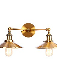 cheap -Mini Style Retro / Vintage / Modern / Contemporary Wall Lamps & Sconces Living Room / Dining Room / Shops / Cafes Metal Wall Light