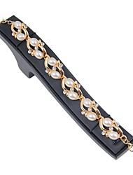 cheap -Women's Chain Bracelet / Bracelet / Link Bracelet - Imitation Pearl, Gold Plated Bracelet Gold For Wedding / Daily