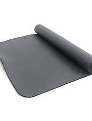 Χαμηλού Κόστους Γιόγκα-Χαλάκι Εκγύμνασης Χωρίς Οσμή, Φιλικό προς το περιβάλλον, Κολλώδης NBR Αδιάβροχη, Γρήγορο Στέγνωμα, Αντιολισθητική Για την Fitness / Γυμναστήριο / Προπόνηση Μαύρο