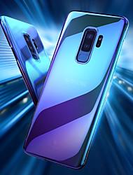 baratos -Capinha Para Samsung Galaxy S9 Plus / S9 Transparente / Cores Gradiente Capa traseira Cores Gradiente Rígida PC para S9 / S9 Plus / S8 Plus
