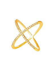 cheap -Cubic Zirconia Knuckle Ring - Fashion 6 / 7 / 8 Gold / Silver For Daily