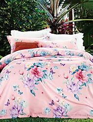 baratos -Confortável - 1 Colcha Verão Penas de Ganso Branco Floral