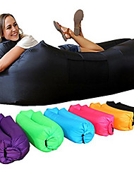 cheap -Inflatable Sofa Sleep lounger / Air Sofa / Air Bed Outdoor Portable / Fast Inflatable / Waterproof Polyester Taffeta / Polyster 260*70 cm Fishing / Beach / Camping All Seasons