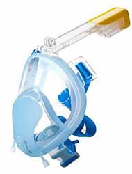 baratos -Máscara de Snorkel Anti-Nevoeiro, Dobrável, Peso Leve Visor Duplo - Mergulho, Snorkeling Resina ABS - para Preto / Azul / Rosa claro