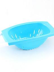 baratos -Organização de cozinha Prateleiras e Suportes Plástico Fácil Uso 1pç