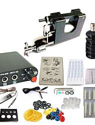 Недорогие -Татуировочная машина Набор для начинающих 1 х Стальная тату-машинка для контура и заливки Мини 1 х Алюминиевый держатель 10pcs штук Иглы