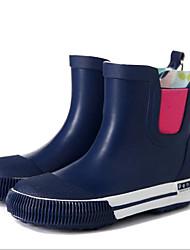 baratos -Para Meninas Sapatos Látex Primavera & Outono Botas de Chuva Botas para Azul Real