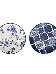 olcso -2pcs Porcelán Kreatív Tálak vacsorára, étkészlet