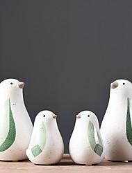 abordables -2pcs Céramique Style Simple Moderne / ContemporainforDécoration d'intérieur, Décorations pour la maison Cadeaux