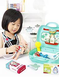 Недорогие -Товары для игр в профессии Дети Взаимодействие родителей и детей ABS + PC Детские Подарок 20pcs