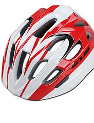 baratos -GUB® Crianças Capacete de bicicleta 18 Aberturas CE / CPSC Resistente ao Impacto EPS, PC Esportes Ciclismo / Moto - Vermelho / Branco / Preto / Vermelho / Azul / branco
