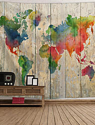 cheap -Architecture Wall Decor Polyester Vintage Wall Art, Wall Tapestries Decoration
