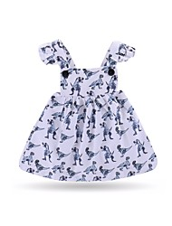 cheap -Infant / Toddler Girls' Floral Sleeveless Dress