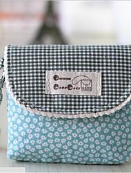 baratos -Mulheres Bolsas Tecido / Algodão Porta Moedas Ziper para Ao ar livre Verde Escuro / Fúcsia / Azul Real